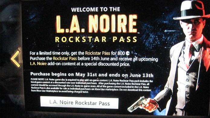 L.A. Noire foi o primeiro jogo a apresentar o modelo de Season Pass que conhecemos hoje (Foto: IGN)