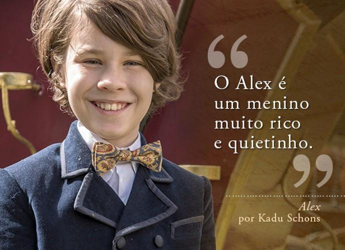 Alex (Kadu Schons) (Foto: Gshow)