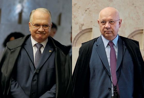 Edson Fachin e Teori Zavascki (Foto: André Dusek/Estadão Conteúdo e Agência Senado)