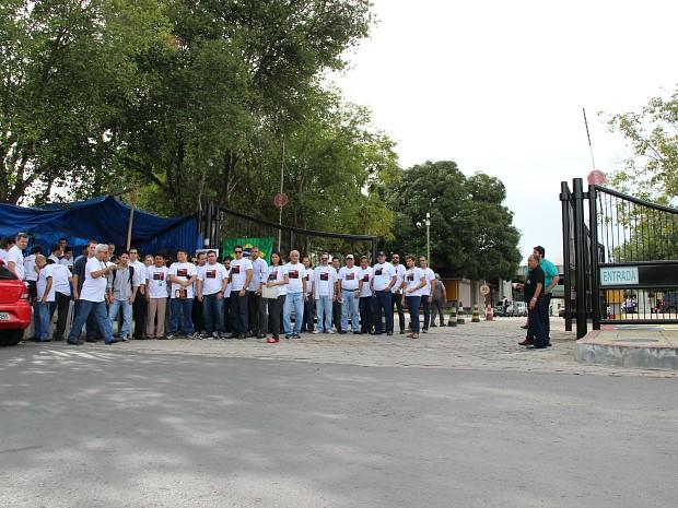 Ato cobra reestruturação dos salários de servidores da autarquia  (Foto: Diego Toledano/G1 AM)