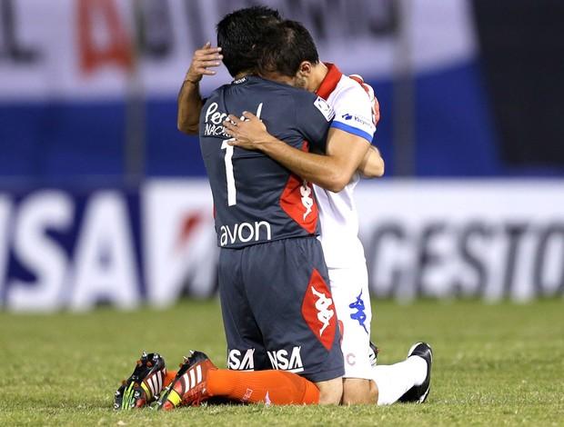 Jogadores Nacional-PAR (Foto: Agência AP)