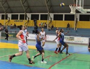 Venceslau x São José, Campeonato Paulista de Basquete Feminino (Foto: Cláudio Almeida / Divulgação, Presidente Venceslau)