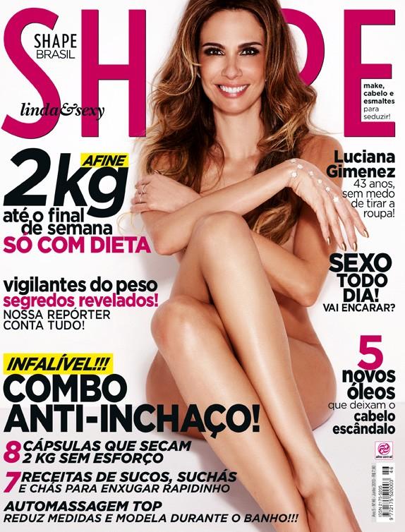 Luciana Gimenez (Foto: Danilo Borges / Revista Shape)