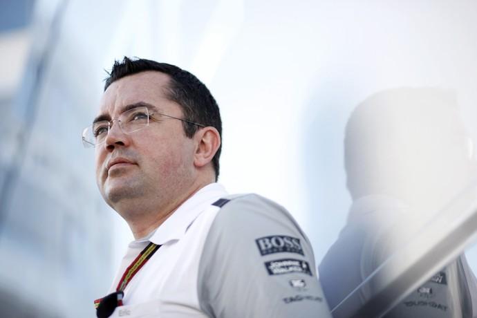 Eric Boullier é diretor da McLaren desde 2014 (Foto: Getty Images)