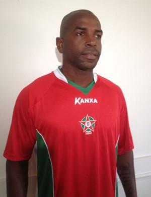 Volante Sandro Silva é apresentado no Boa Esporte (Foto: Breno Beretta / EPTV)