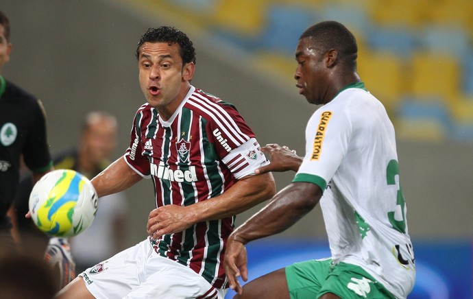 Fred e Gustavo Geladeira, Fluminense x Boavista (Foto: Agência Photocamera)