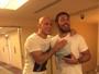 Minotauro chega a Orlando para torcer por Cigano contra Overeem