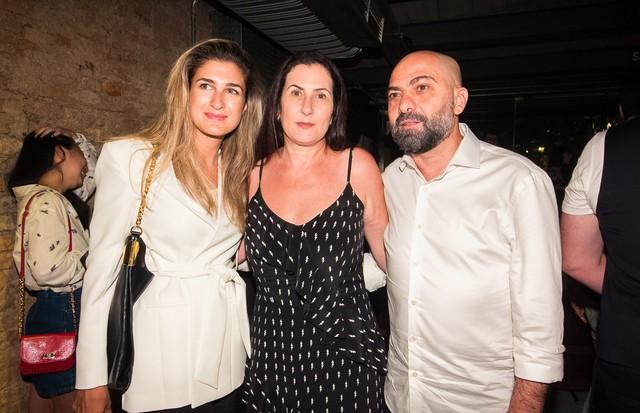 Barbara Migliori, Valeria e Alberto Hiar (Foto: Arthur Vahia)