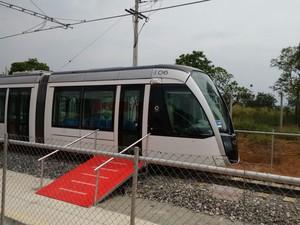 Alstom VLT (Foto: Nicole Melhado/G1)
