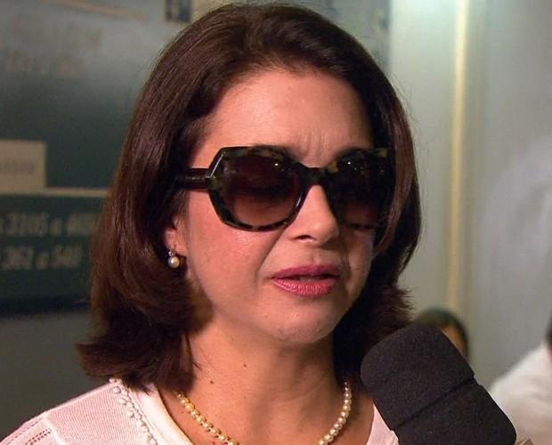 Alexandra Marzo se emociona ao falar do pai (Foto: Reprodução/ TV Globo)