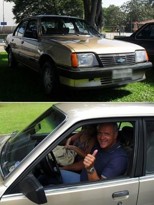 Rubens Pacheco é dono de três Monza (Foto: Arquivo pessoal)