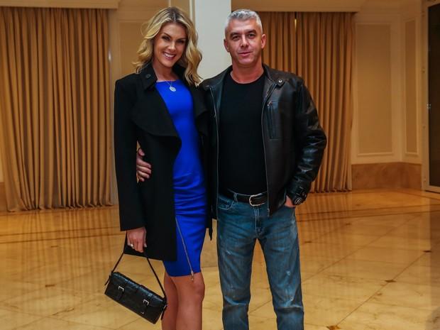 Ana Hickmann e o marido, Alexandre Côrrea, em festa em São Paulo (Foto: Manuela Scarpa/ Foto Rio News)