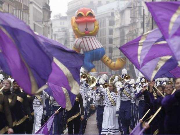 Tradições de Ano Novo - Londres - Parada (Foto: Sang Tan/AP)