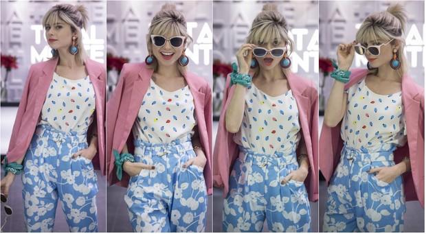 Julianne Trevisol vive a blogueira de moda Lu na novela das 7  Totalmente Demais. Para aparecer com corpo sequinho na telinha, ela cortou glúten e lactose (Foto: TV Globo/Divulgação)