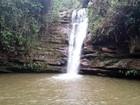 Raio atinge cachoeira e deixa feridos em Santana do Garambéu, MG