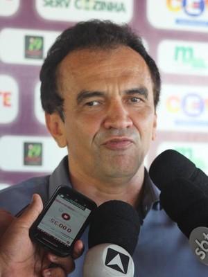 Elizeu Aguiar, presidente do River-PI (Foto: Joana D'arc Cardoso)