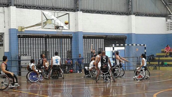 Adapp basquete adaptado de Prudente (Foto: Renê Francisco da Silva / Cedida)