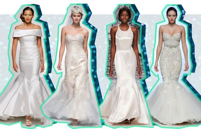 Vestidos de noiva sereia (Foto: ImaxTree)