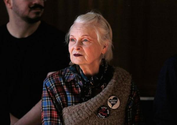 A estilista Vivienne Westwood (Foto: Getty Images)