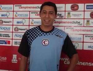 Ferreira, lateral-direito do Campinense (Foto: Silas Batista)