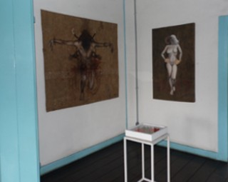 Mostra 'Tributos' pode ser visitada até 19 de novembro (Foto: Divulgação/ Centro de Cultura Fazenda da Posse )