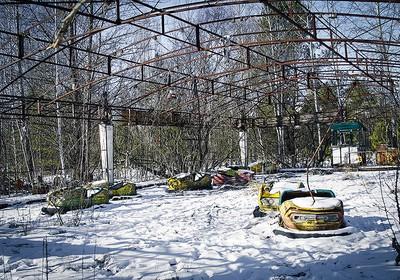 Parque de diversões, um toque dramático ao local da tragédia (Foto: Guilber Hidaka/Bufalos)