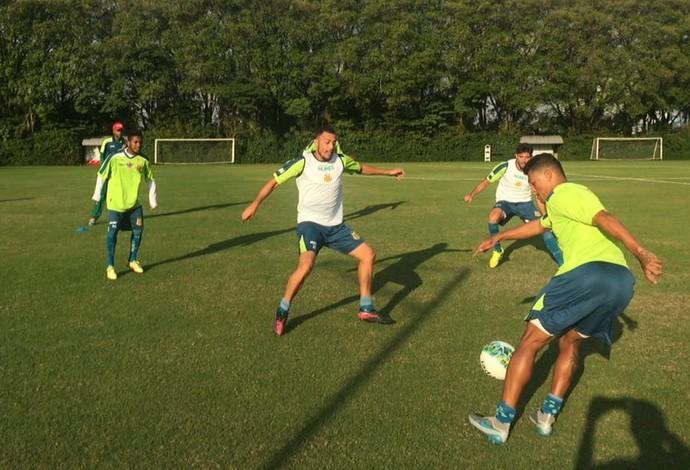 Sampaio vem ultimando preparação para enfrentar o Oeste pela Série B (Foto: Sampaio / Divulgação)