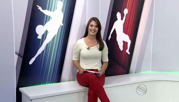 Tâmara Oliveira traz os destaques do esporte, nesta quarta-feira (Foto: Divulgação/TV Sergipe)