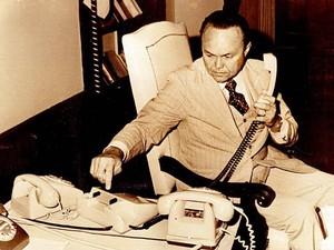 Nunes ingressou na carreia política ao ser nomeado prefeito de Belém em 1964, ano em que a ditadura militar se instalou no Brasil.  (Foto: Arquivo/O Liberal)