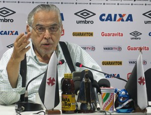 Eurico Miranda, presidente do Vasco
