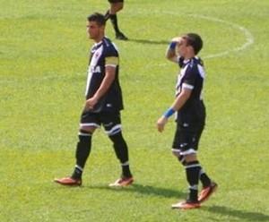 Guilherme Costa e Marquinhos juniores do Vasco (Foto: Marcelo Sadio/Vasco.com.br)