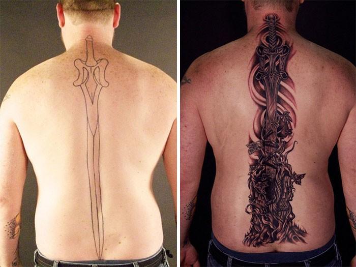 (Foto: Reprodução/Tattoo Nightmares)