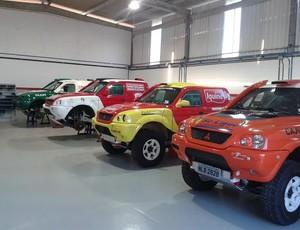 Equipes finalizam preparação dos carros para a competição (Foto: Arquivo Pessoal)