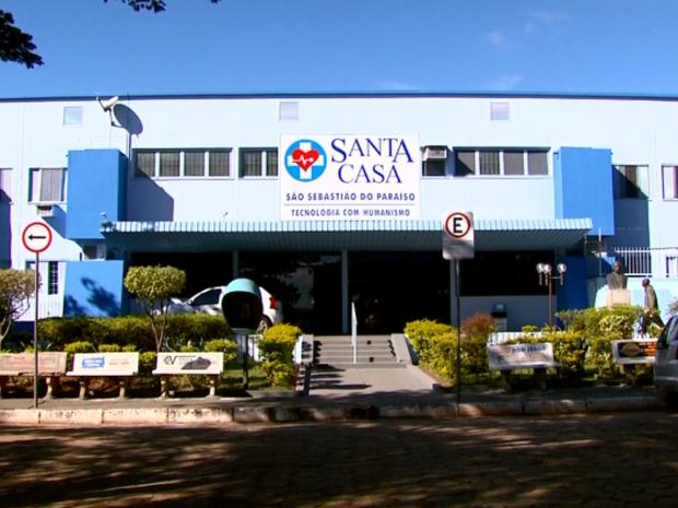 Atendimento deve ser paralisados na Santa Casa de São Sebastião do Paraíso (Foto: Reprodução EPTV)