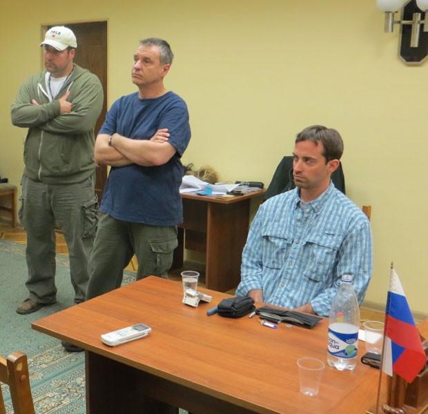 Foto divulgada pelo serviço secreto russo mostra Ryan C. Fogle, suposto espião da CIA (Foto: FSB Public Relations Center/AP)