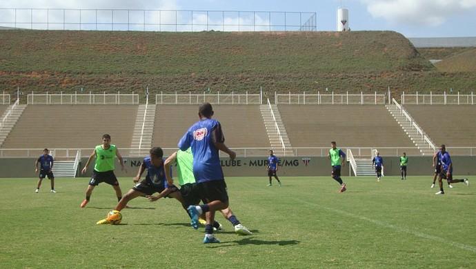 Tombense treino Muriaé (Foto: Bruno Ribeiro)