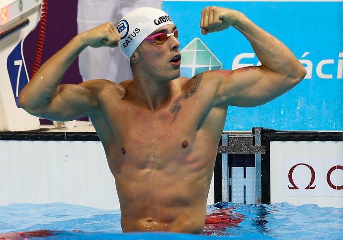 Bruno Fratus Troféu Maria Lenk evento-teste Rio 2016 (Foto: Getty Images)