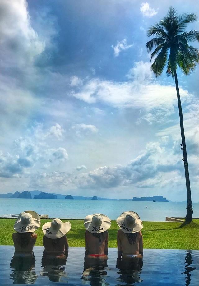 Sara Sampaio, Lais Ribeiro, Josephine Skriver e Jasmine Tookes curtem dias de descanso na Tailândia (Foto: reprodução/instagram)