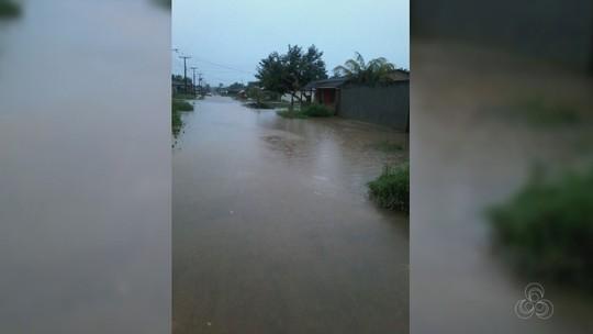 Enchentes atingem Tartarugalzinho e Ferreira Gomes após chuvas no AP