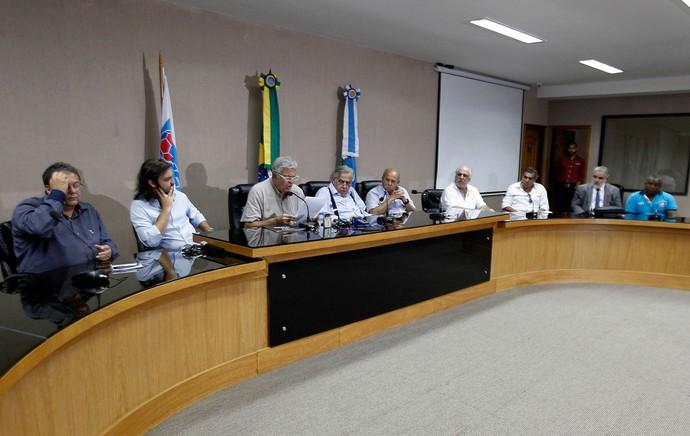 coletiva, FERJ (Foto: Uanderson Fernandes / Ag. Estado)