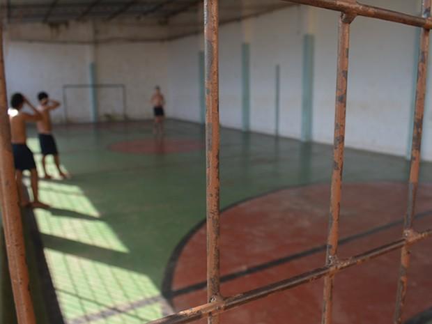 Adolescentes que entram na unidade em Santarém não estudavam ou tiveram conflitos familiares (Foto: João Machado/G1)