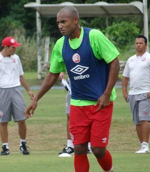 Luiz Alberto treino Náutico (Foto: Daniel Gomes)