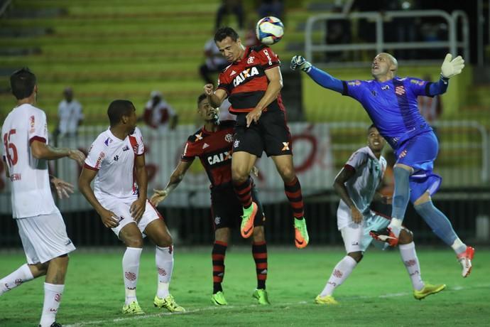 Gol de Leandro Damião contra o Bangu (Foto: Gilvan de Souza/Flamengo)