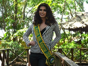 Miss Amapá Gay Universo 2016, Amapá, Miss, Macapá, Flávia Guimarães, (Foto: Fabiana Figueiredo/G1)