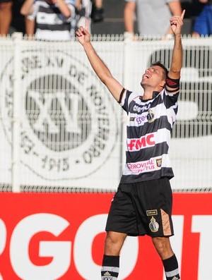 Danilo Sacramento gol XV de Piracicaba x Portuguesa Paulistão (Foto: Antonio Trivelin / Gazeta de Piracicaba)