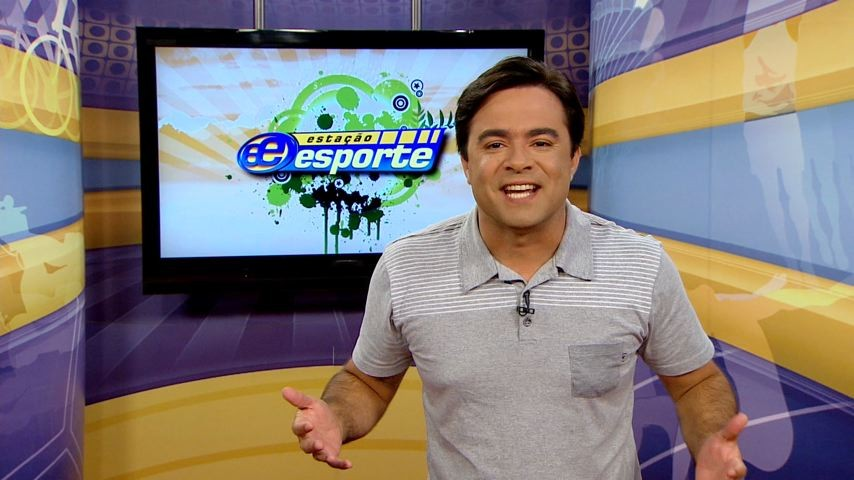 Humberto Gomes comanda o Estação Esporte (Foto: Divulgação)
