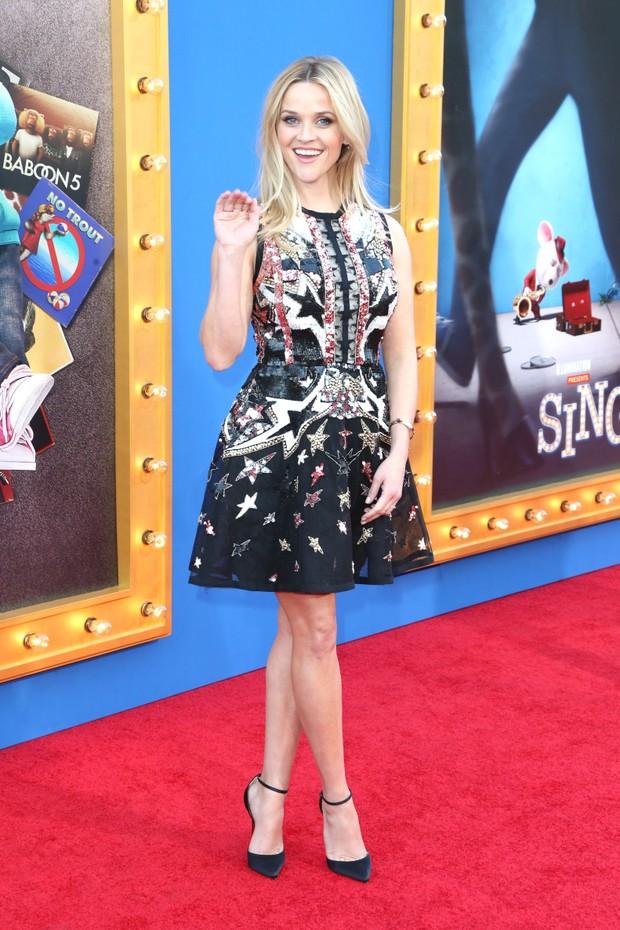 Reese Witherspoon em première de filme em Los Angeles, nos Estados Unidos (Foto: Frederick M. Brown/ Getty Images/ AFP)