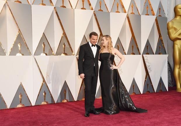 Leonardo DiCaprio e kate Winslet (Foto: Getty Images)