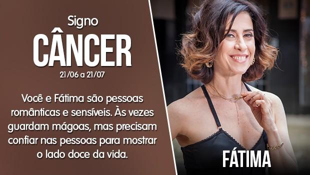 Câncer - Fátima (Foto: Gshow)