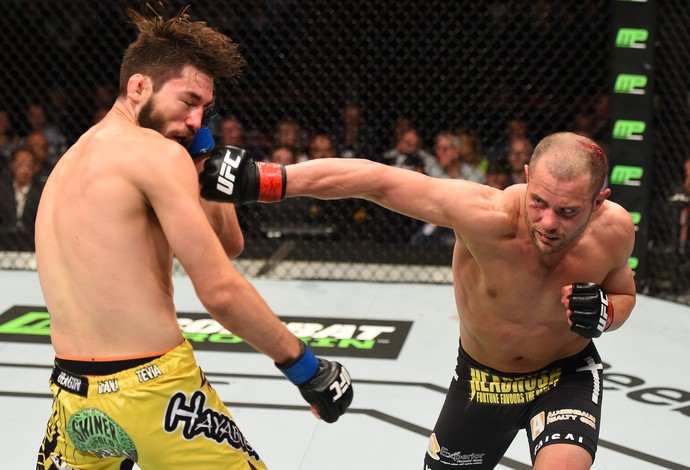 Chad Laprisse Bryan Barberena UFC 186 (Foto: Getty Images)